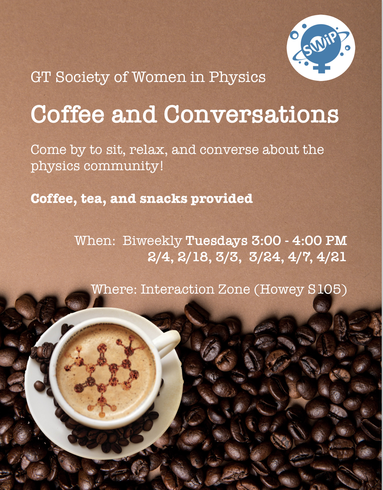 Coffee and Conversations – Spring 2020